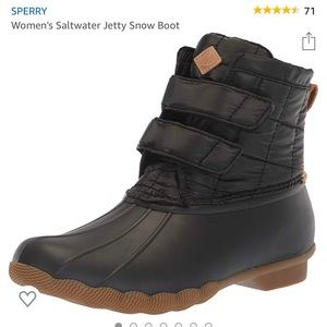 Sperry Saltwater Jetty Boot